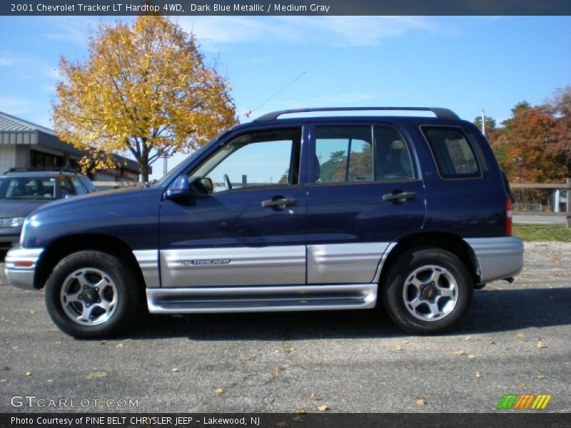 2001 Chevrolet Tracker LT Hardtop 4WD in Dark Blue ...