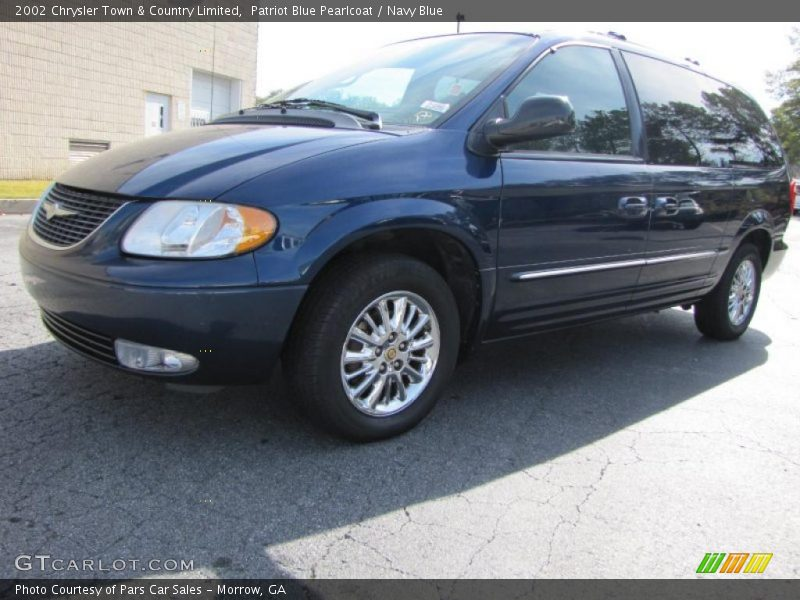 2002 chrysler town country limited in patriot blue. Black Bedroom Furniture Sets. Home Design Ideas