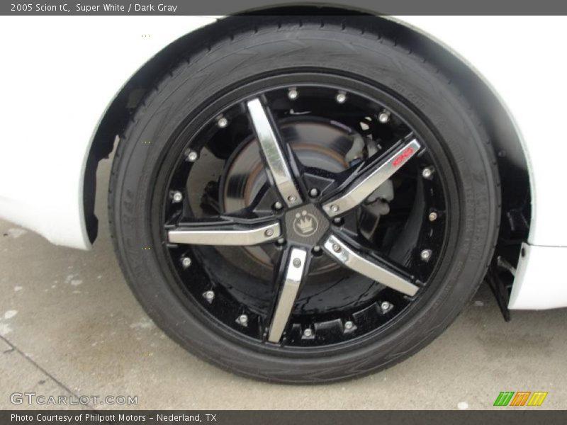 Custom Wheels of 2005 tC