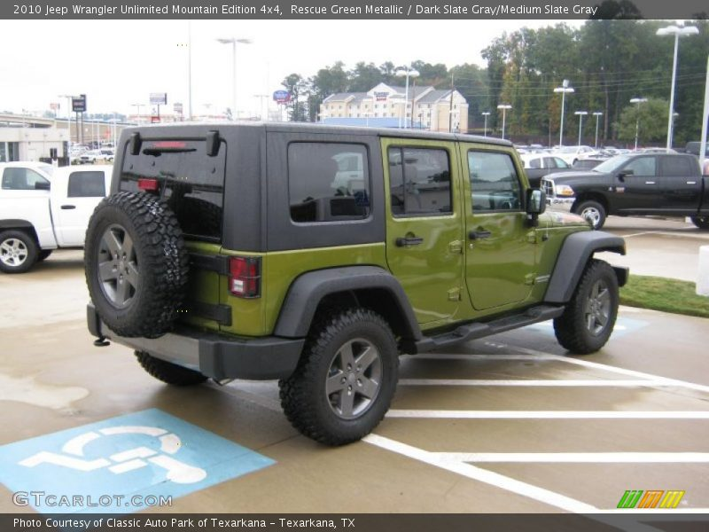 2010 Jeep Wrangler Unlimited Mountain Edition 4x4 in
