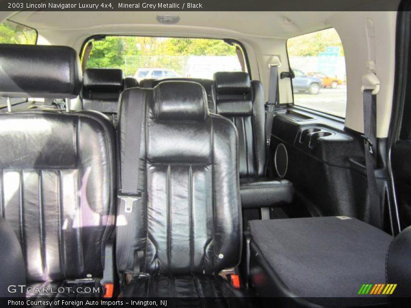 2003 Navigator Luxury 4x4 Black Interior Photo No 39383937