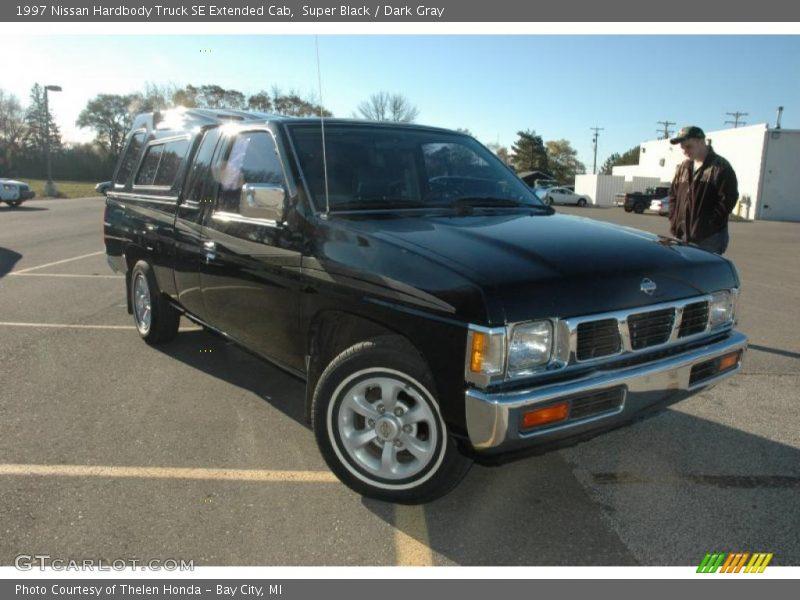 1997 nissan hardbody truck se extended cab in super black photo no 39487272. Black Bedroom Furniture Sets. Home Design Ideas