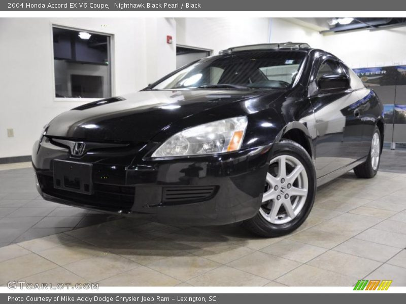 2004 honda accord ex v6 coupe in nighthawk black pearl photo no 39510504. Black Bedroom Furniture Sets. Home Design Ideas