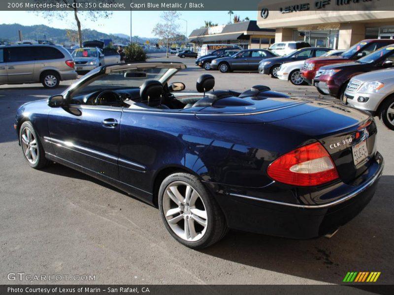 2006 mercedes benz clk 350 cabriolet in capri blue for 2006 mercedes benz clk350 convertible