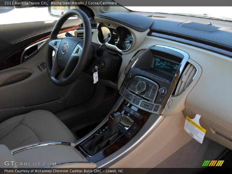 2011 Lacrosse Cxl Cocoa Cashmere Interior Photo No 39615117