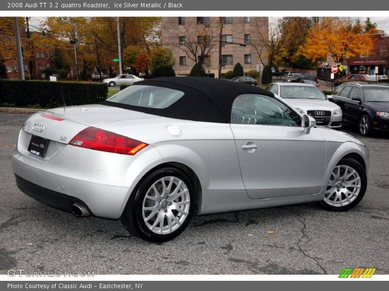 2008 audi tt 3 2 quattro roadster in ice silver metallic photo no 39626818. Black Bedroom Furniture Sets. Home Design Ideas