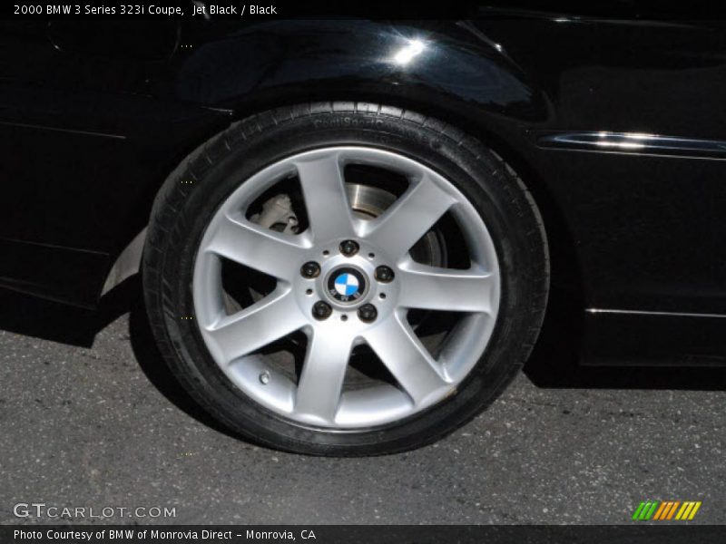 Jet Black / Black 2000 BMW 3 Series 323i Coupe
