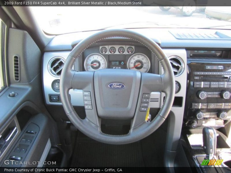 2009 F150 FX4 SuperCab 4x4 Steering Wheel