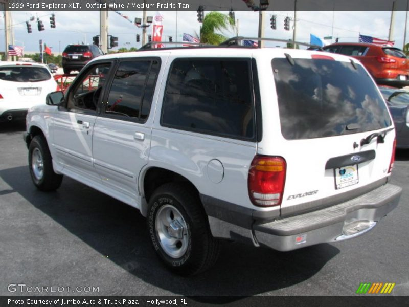 1999 ford explorer xlt in oxford white photo no 39783922. Black Bedroom Furniture Sets. Home Design Ideas