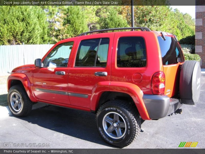 2004 jeep liberty sport 4x4 columbia edition in flame red photo no 39930813. Black Bedroom Furniture Sets. Home Design Ideas