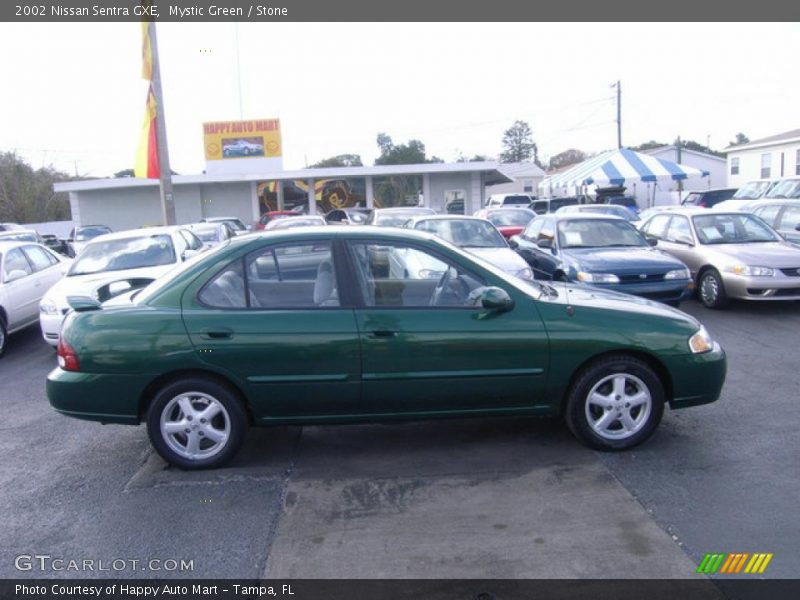 2002 nissan sentra gxe in mystic green photo no 4018710 for G stone motors used cars