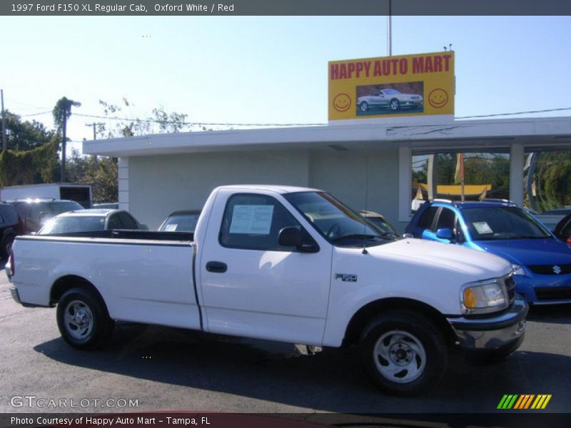 1997 ford f150 xl regular cab in oxford white photo no 4023461. Black Bedroom Furniture Sets. Home Design Ideas
