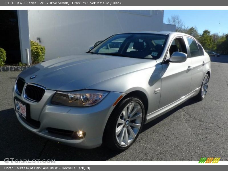 Titanium Silver Metallic / Black 2011 BMW 3 Series 328i xDrive Sedan