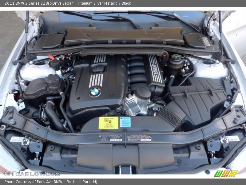 2011 3 Series 328i xDrive Sedan Engine - 3.0 Liter DOHC 24-Valve VVT Inline 6 Cylinder