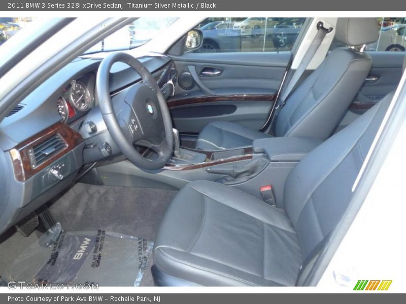 2011 3 Series 328i xDrive Sedan Black Interior