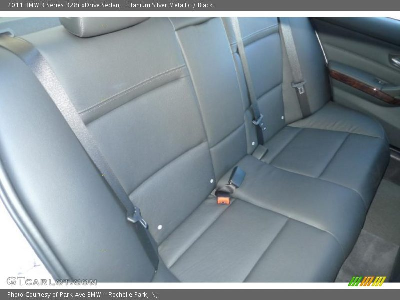 2011 3 Series 328i xDrive Sedan Black Interior