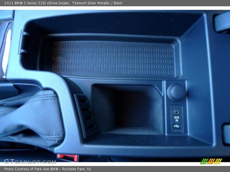 Titanium Silver Metallic / Black 2011 BMW 3 Series 328i xDrive Sedan