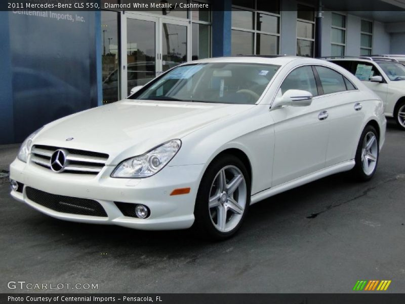 2011 mercedes benz cls 550 in diamond white metallic photo for 2011 mercedes benz cls 550