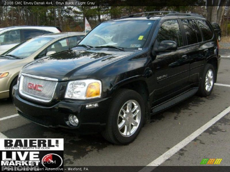 2008 gmc envoy denali 4x4 in onyx black photo no 40483790. Black Bedroom Furniture Sets. Home Design Ideas