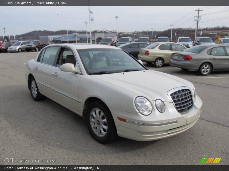 2005 kia amanti in pearl white photo no 40506414 gtcarlot com