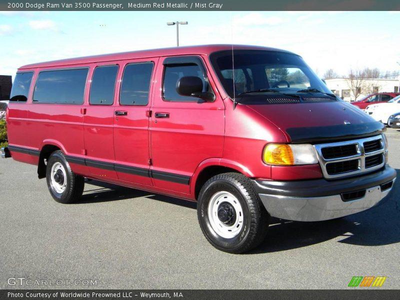 1996 Dodge Van 3500 >> Front 3/4 View of 2000 Ram Van 3500 Passenger Photo No. 40645694   GTCarLot.com