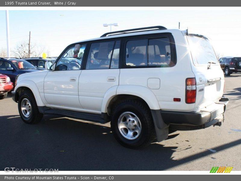 Toyota Land Cruiser 2013 White White Gray 1995 Toyota Land