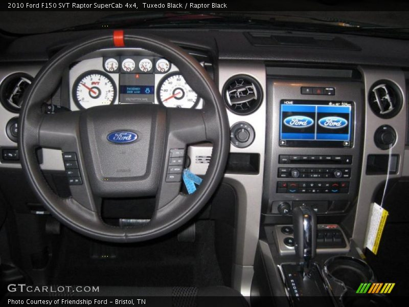 Dashboard Of 2010 F150 Svt Raptor Supercab 4x4 Photo No