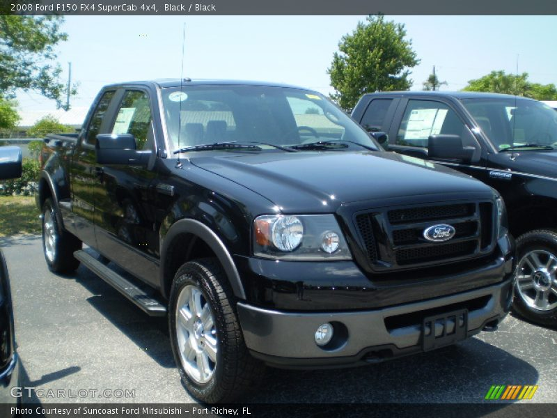 2008 Ford F150 Fx4 Supercab 4x4 In Black Photo No 407536