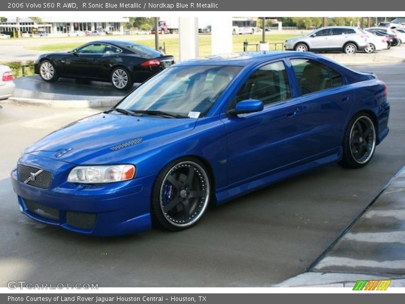 2006 volvo s60 r awd in r sonic blue metallic photo no. Black Bedroom Furniture Sets. Home Design Ideas