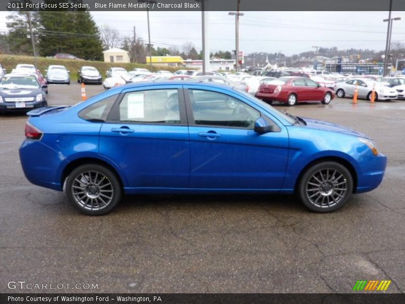2011 ford focus ses sedan in blue flame metallic photo no. Black Bedroom Furniture Sets. Home Design Ideas