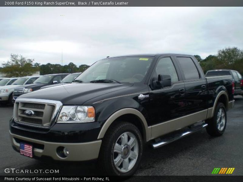 2008 ford f150 king ranch supercrew in black photo no 408351. Black Bedroom Furniture Sets. Home Design Ideas