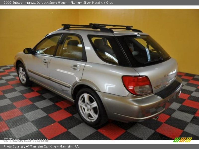 2002 subaru impreza outback sport wagon in platinum silver. Black Bedroom Furniture Sets. Home Design Ideas