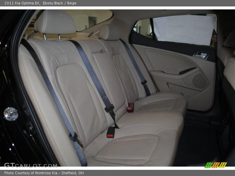 2011 Optima EX Beige Interior