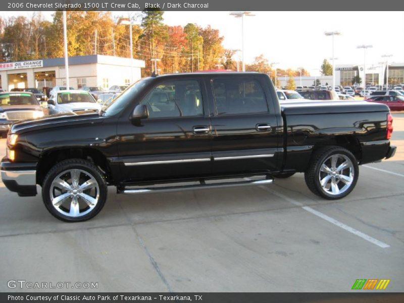Black / Dark Charcoal 2006 Chevrolet Silverado 1500 LT Crew Cab