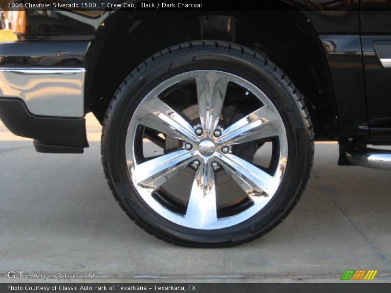Custom Wheels of 2006 Silverado 1500 LT Crew Cab