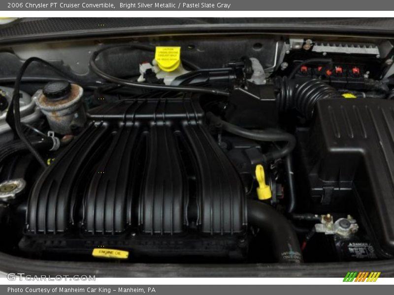 2006 pt cruiser convertible engine 2 4 liter dohc 16. Black Bedroom Furniture Sets. Home Design Ideas