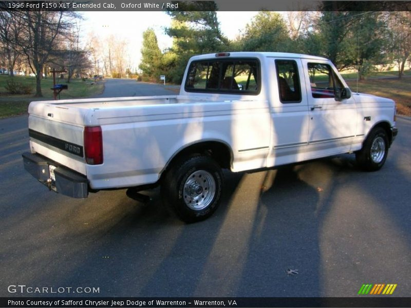 1996 ford f150 xlt extended cab in oxford white photo no 41225231. Black Bedroom Furniture Sets. Home Design Ideas