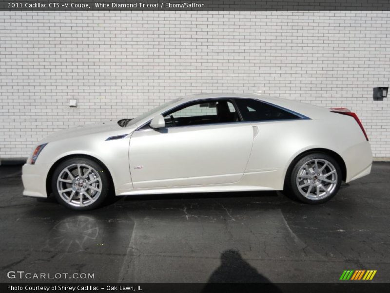 2011 CTS -V Coupe White Diamond Tricoat