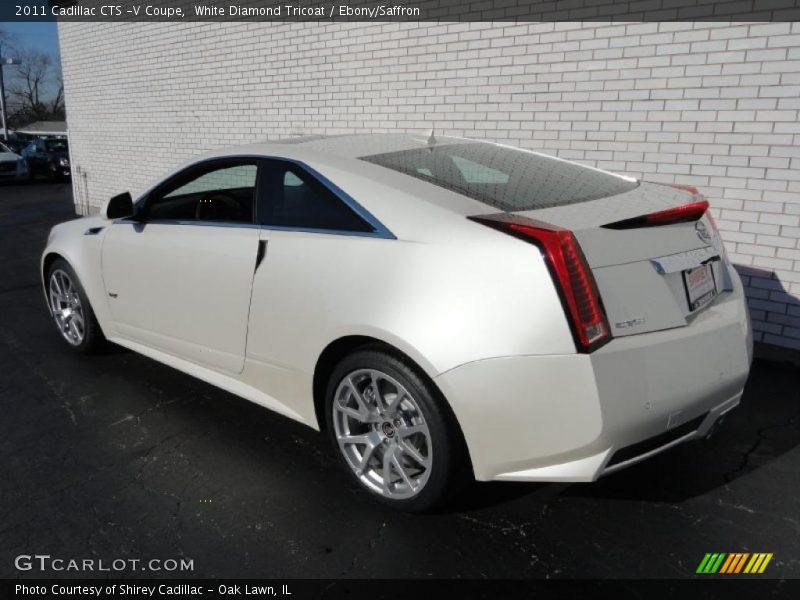2011 CTS -V Coupe White Diamond Tricoat
