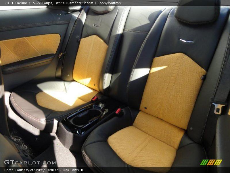 2011 CTS -V Coupe Ebony/Saffron Interior