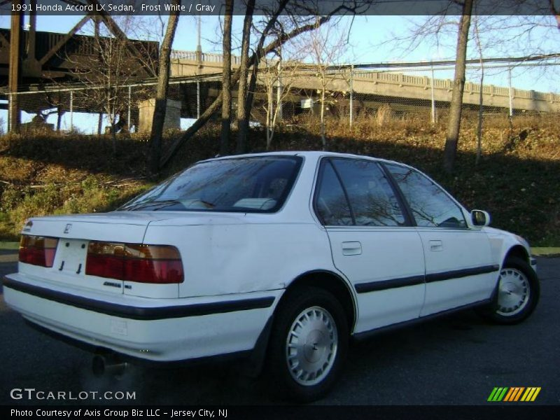 1991 Accord LX Sedan Frost White