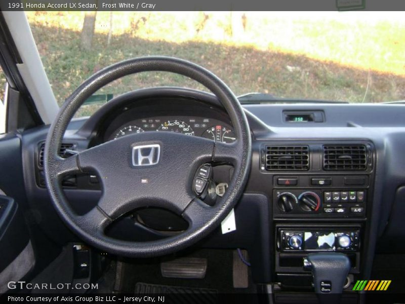 Dashboard of 1991 Accord LX Sedan