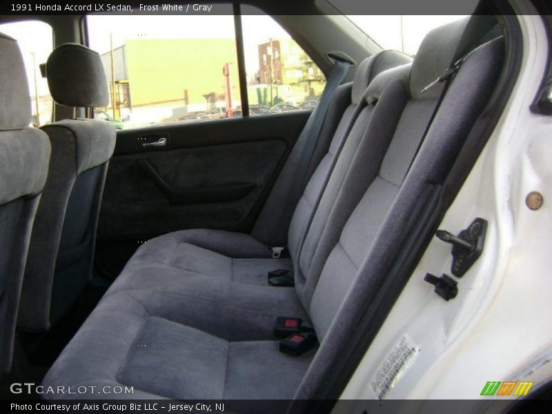 1991 Accord LX Sedan Gray Interior
