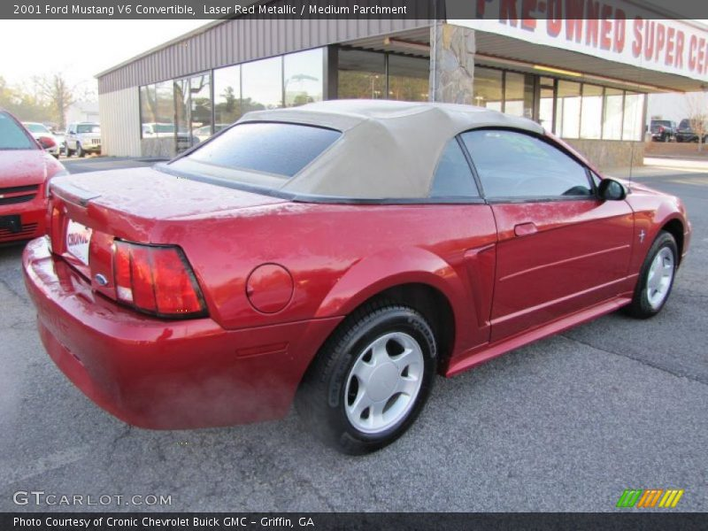 2001 mustang v6 convertible laser red metallic photo no. Black Bedroom Furniture Sets. Home Design Ideas