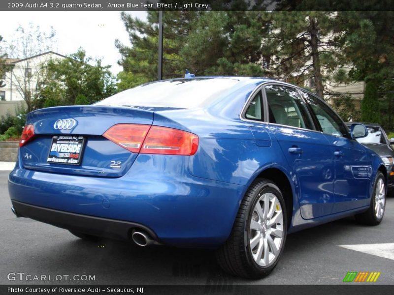 Audi a4 2009 Blue Light Grey 2009 Audi a4