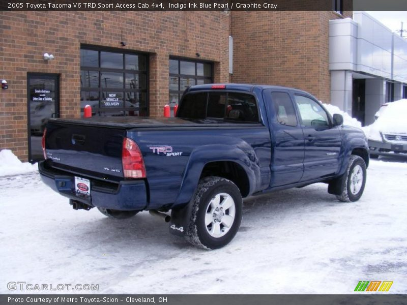 2005 toyota tacoma v6 trd sport access cab 4x4 in indigo. Black Bedroom Furniture Sets. Home Design Ideas