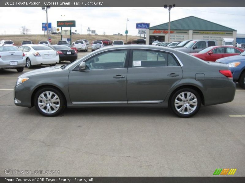 2011 Avalon  Cypress Green Pearl