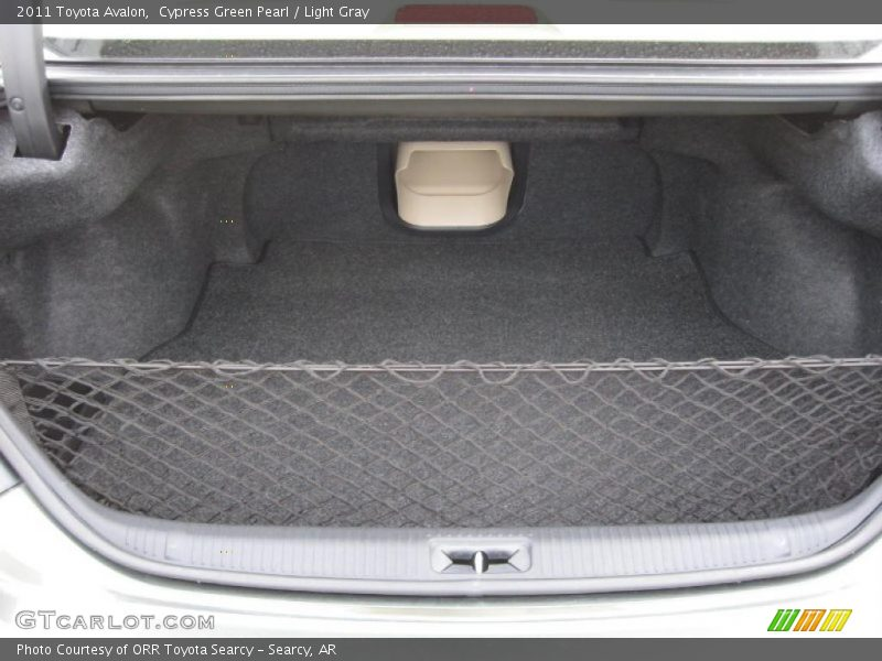 2011 Avalon  Trunk