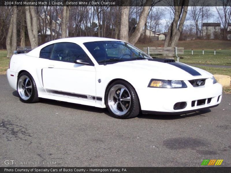 2004 ford mustang mach 1 coupe in oxford white photo no 41626310. Black Bedroom Furniture Sets. Home Design Ideas