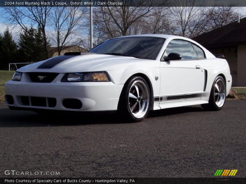 2004 ford mustang mach 1 coupe in oxford white photo no 41626346 gtcarlot com